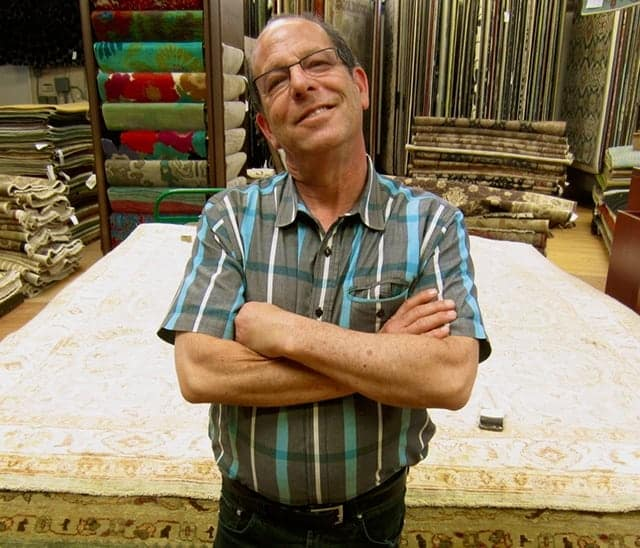 Steve Blumkin President And Co Founder Of Outrageous Rugs